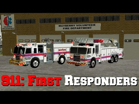 911: First Responders - Right At The Station!