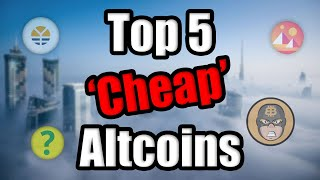 Top 5 Cheap Altcoins To Watch in 2021 | Best Cryptocurrency Investment February | BitBoy Interview