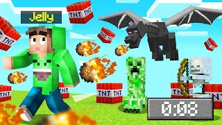 MINECRAFT But CHAOS Happens EVERY 30 SECONDS! (Insane)