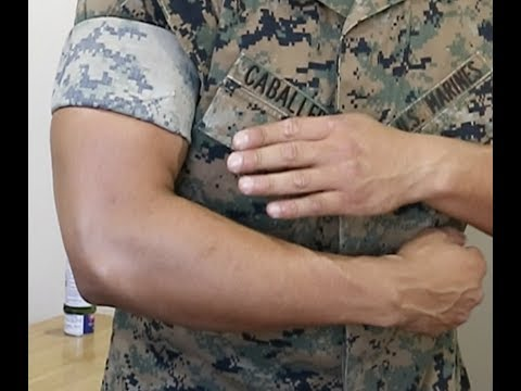 HOW TO ROLL TIGHT SLEEVES! USMC