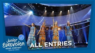 ALL JUNIOR EUROVISION SONGS FROM RUSSIA! 🇷🇺
