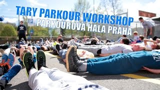 TARY PARKOUR WORKSHOP | PARKOUROVA HALA PRAHA