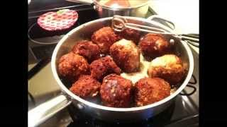 Italian Turkey Meatballs - Amazing Meal, Easy To Make! Sicilian Prince's Family Recipe.