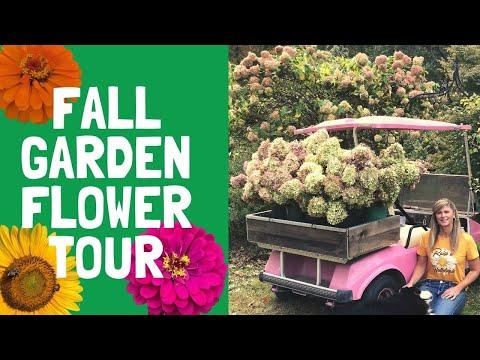 Fall Garden Flower Tour ( October )
