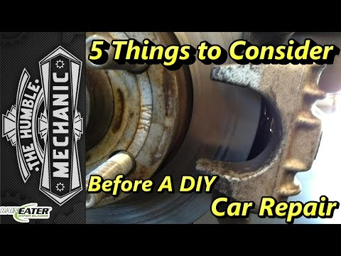 5 Things to Consider BEFORE DIY Car Repairs ~ Podcast Episode 93