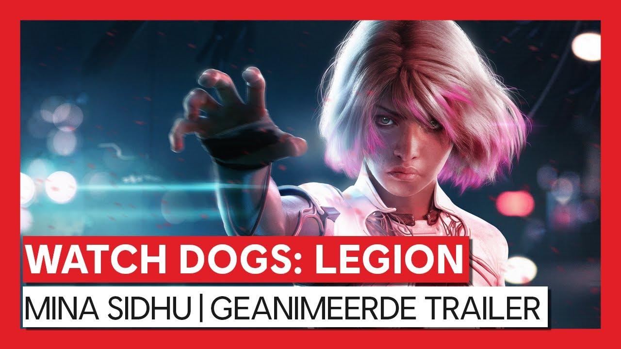 Watch Dogs: Legion - Mina Sidhu | Geanimeerde Trailer