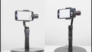 Zhiyun Smooth Q vs Zhiyun Smooth 3  Gimbal Comparison - Smartphone & Go Pro