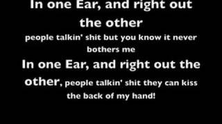 Repeat youtube video Cage The Elephant - In one Ear (with lyrics)
