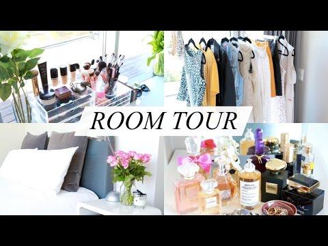 ROOM TOUR! ♥ (Makeup Storage / Bathroom / Wardrobe) | Annie Jaffrey