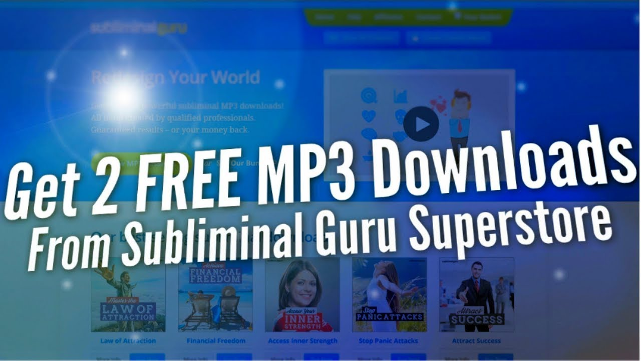 Download 2 Free Subliminal MP3s From Subliminal Guru