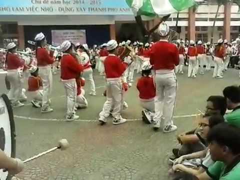 Đội nhạc kèn Võ Thành Trang - hội thi liên hoan trống kèn cấp quận 2015 -2016 . Hạng A