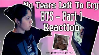 ARIANA GRANDE - NO TEARS LEFT TO CRY ( BTS - Part 1 ) { Reaction } | Ayeitstanisha