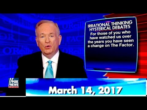 ++++The O'Reilly Factor +++Fox News ¦ March 14, 2017