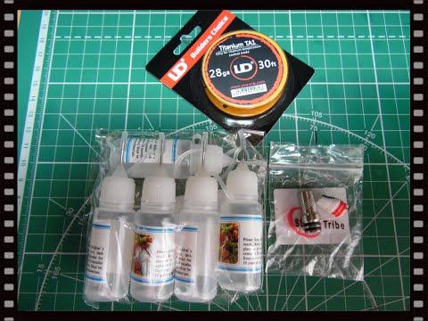 Титановая проволока UD,флаконы с иглой 10мл,510 drip tip for Kayfun v4..