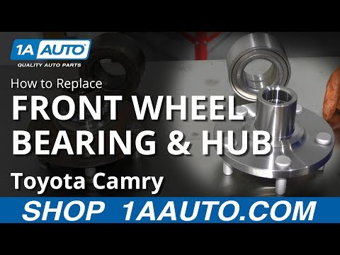 How to Replace Wheel Bearing & Hub 04-16 Toyota Camry