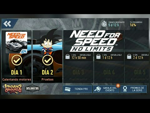 Need For Speed No Limits Android McLaren F1 LM Dia 2 Pruebas
