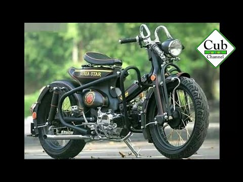 The Best Custom Honda Cub Series 2018 Perfect Custom part2 | Cub Series Channel