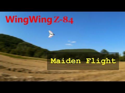 Wing Wing Z-84 | Maiden Flight!