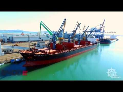 SENNEBOGEN 8400 EQ Schiene - Hafenumschlag bei BMF Port Burgas, BGR