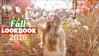 Fall Lookbook 2016