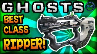 "Call of Duty: Ghost ""THE RIPPER"" - BEST CLASS SETUP! (New Gun) - COD Ghosts Gameplay"