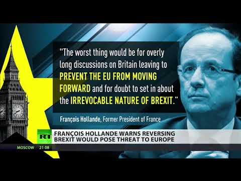 Francois Hollande warns reversing Brexit would pose threat to Europe