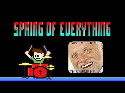 Spring of Everything (Blind Drum Cover) -- The8BitDrummer