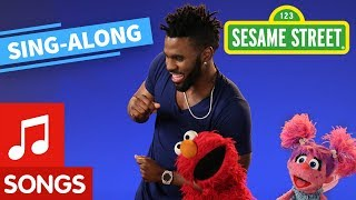 Sesame Street: Dancing Is Easy Lyric Video | Elmo's Sing Along Series