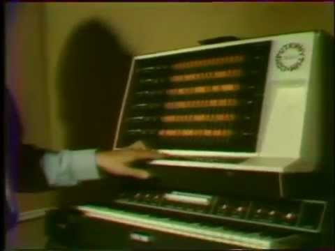 Jean Michel Jarre in his studio, 1977. Rare footage