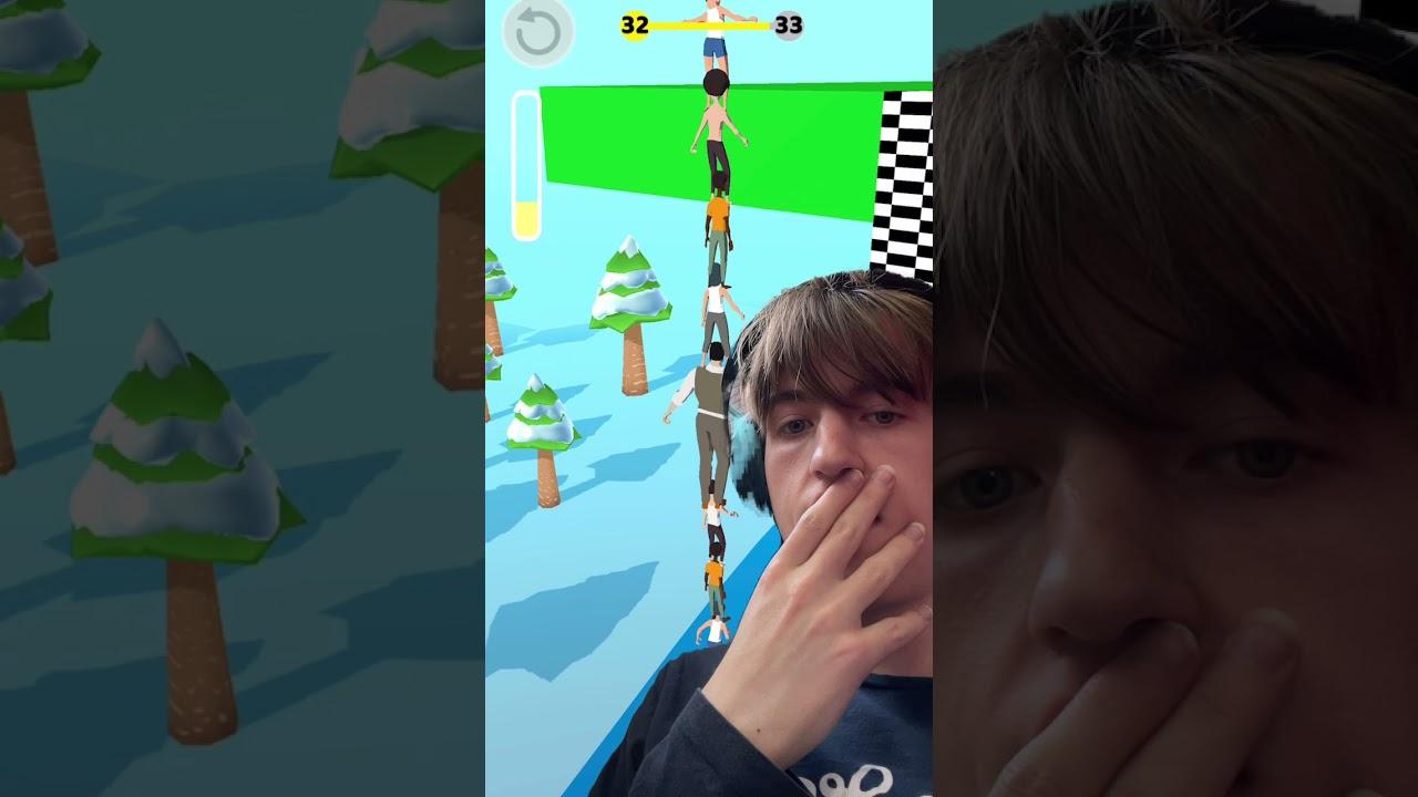 Tower Run - Level #32 - Gameplay on iOS