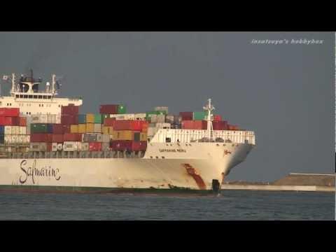 SAFMARINE MERU コンテナ船 container ship 大阪港 OSAKA