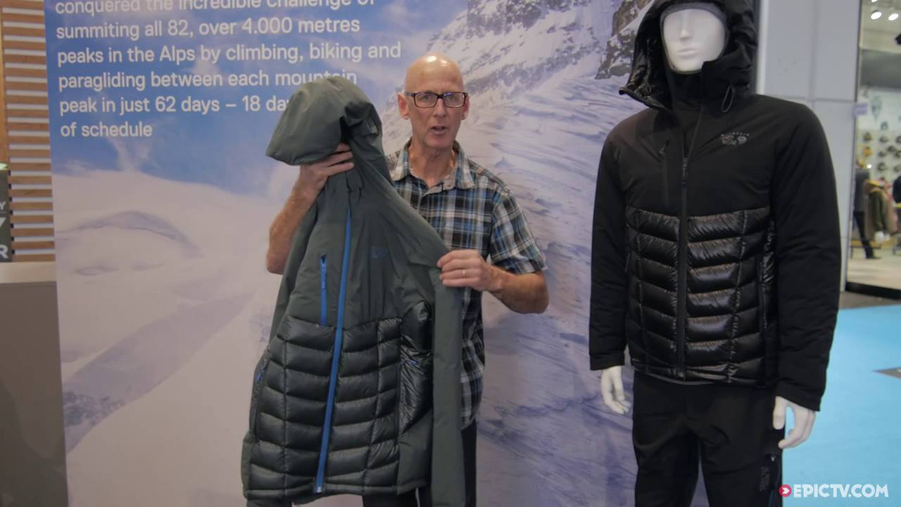 Mountain Hardwear La Supercharger Hooded Insulated Jacket