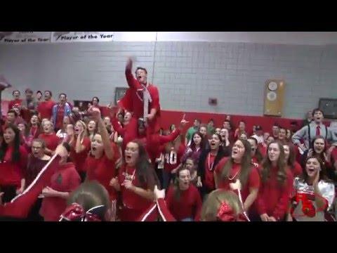 Rutland High School pep rally