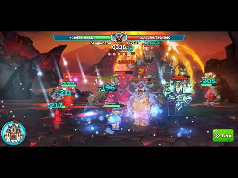 Hustle Castle Dark Portal lvl 80 Victory for the first time