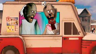 Мороженщик 2 СТАЛ ГРЕННИ в Реальной жизни КАСПЕР играет в ICE SCREAM 2