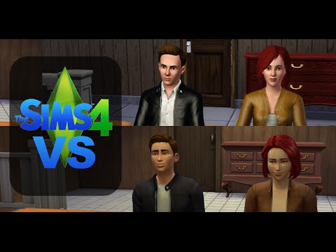 the sims 3 vs the sims 4 graphics comparison hd 1080p youtube