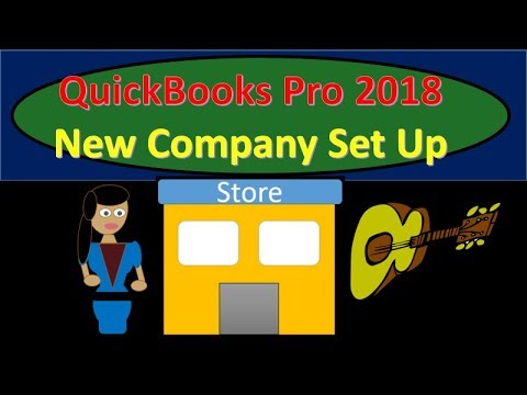 QuickBooks Pro 2018 Set Up New Company  Preference Options New