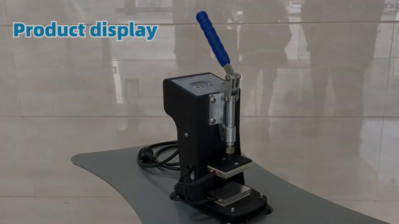 YALAI Rosin Extracting Machine Portable Beginner Heat Press Solvent Free DIY Easy Use Oil Thermal Power Tool Intelligent Home LCD Panel Desktop