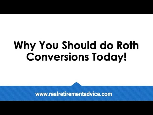When Life Gives You Lemons, Squeeze Out a Roth Conversion