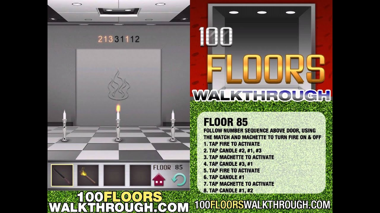 Floor 85 Walkthrough 100 Floors Walkthrough Floor 85