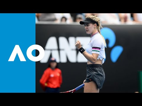 Eugenie Bouchard v Shuai Peng match highlights (1R) | Australian Open 2019