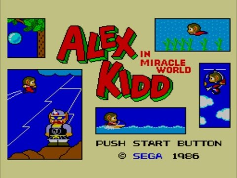 Alex Kidd in Miracle World, Master System