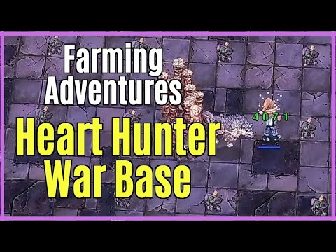 Farming Heart Hunter War Base Instance | Shining Moon RO | Ragnarok Online 17.2