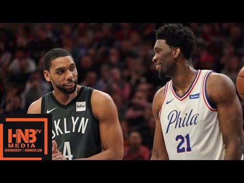 Philadelphia Sixers vs Brooklyn Nets Full Game Highlights / March 16 / 2017-18 NBA Season