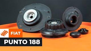 Cum se înlocuiește kitul de reparare al suportului de amortizor pe FIAT PUNTO TUTORIAL | AUTODOC