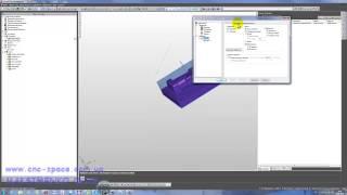 FeatureCam - урок создание подводов и переходов