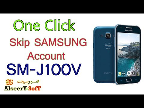 How to Bypass SAMSUNG Account SM-J100VPP One Click - YouTube