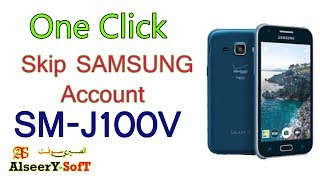 How to Bypass SAMSUNG Account  SM-J100VPP One Click