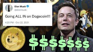 Elon Musk GOING ALL IN on Dogecoin ⚠️