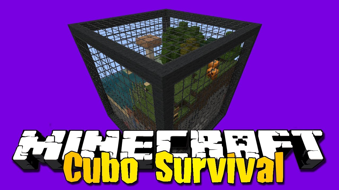 Cubo Survival #1 #TT - 2ª Temporada - Solar Survival - MINECRAFT - Cube Survival # 1 #TT - Season 2 - Solar Survival - MINECRAFT